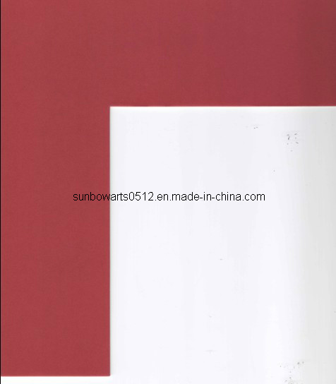Mat Board Ks0894 China Red Popular Color Mount Board Acid Free