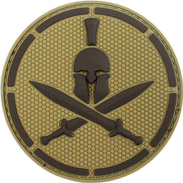 [Hot Item] Spartan Helmet PVC Patch