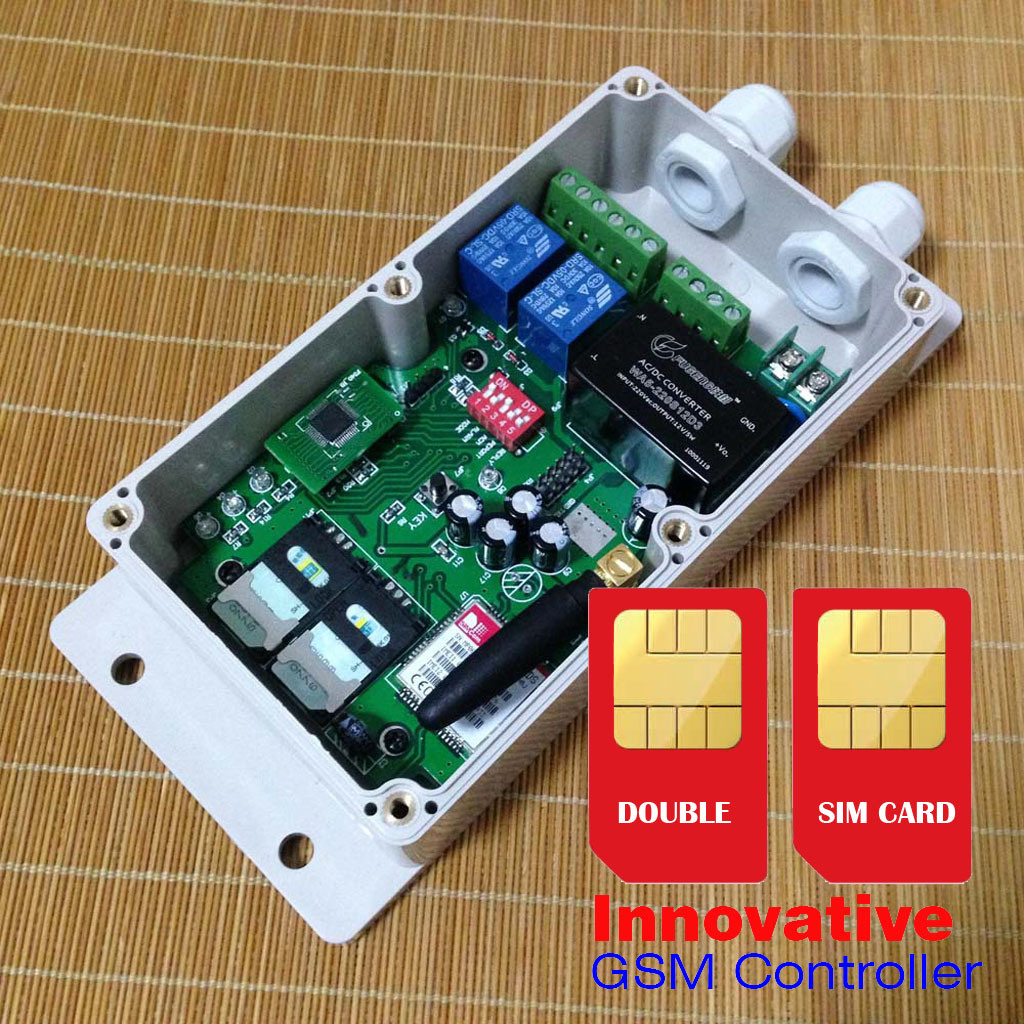 Gsm Remote Control Gsm Module Open Electronics