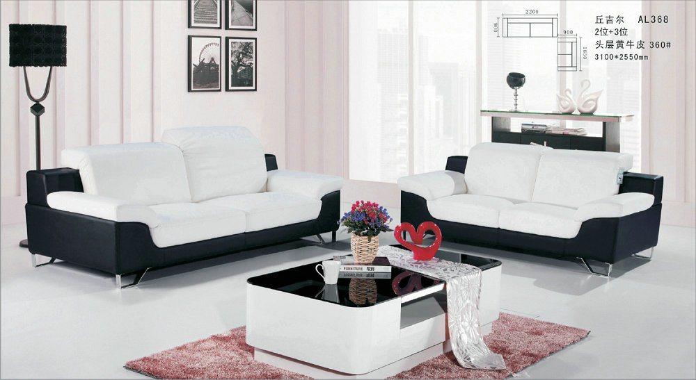 [Hot Item] Furniture European Classic Style Leather Sofa
