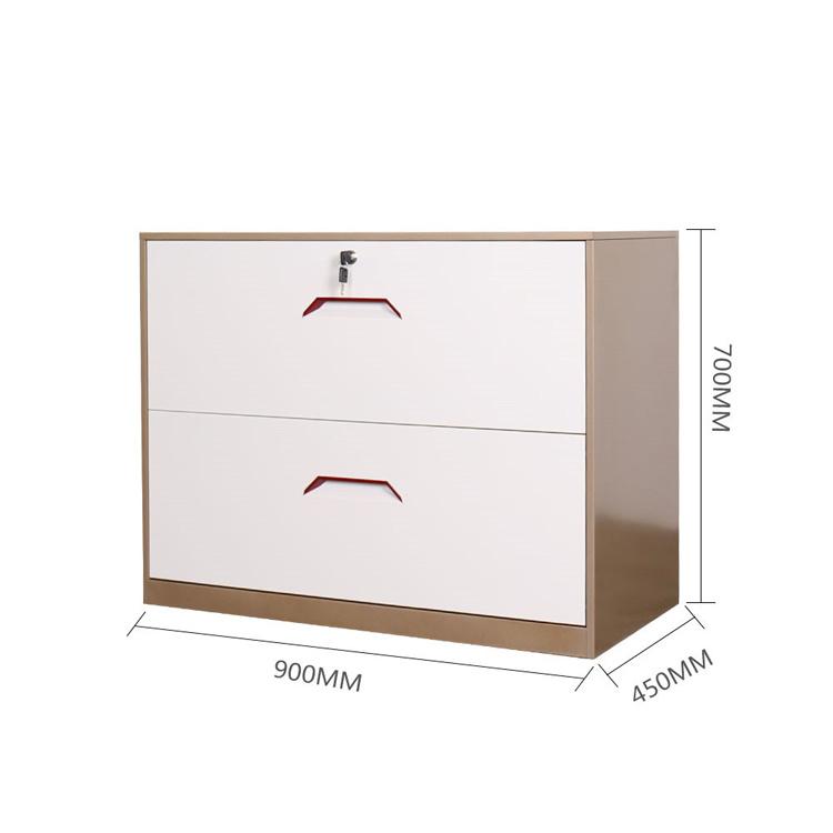 Two Drawer Lateral Metal File Storage