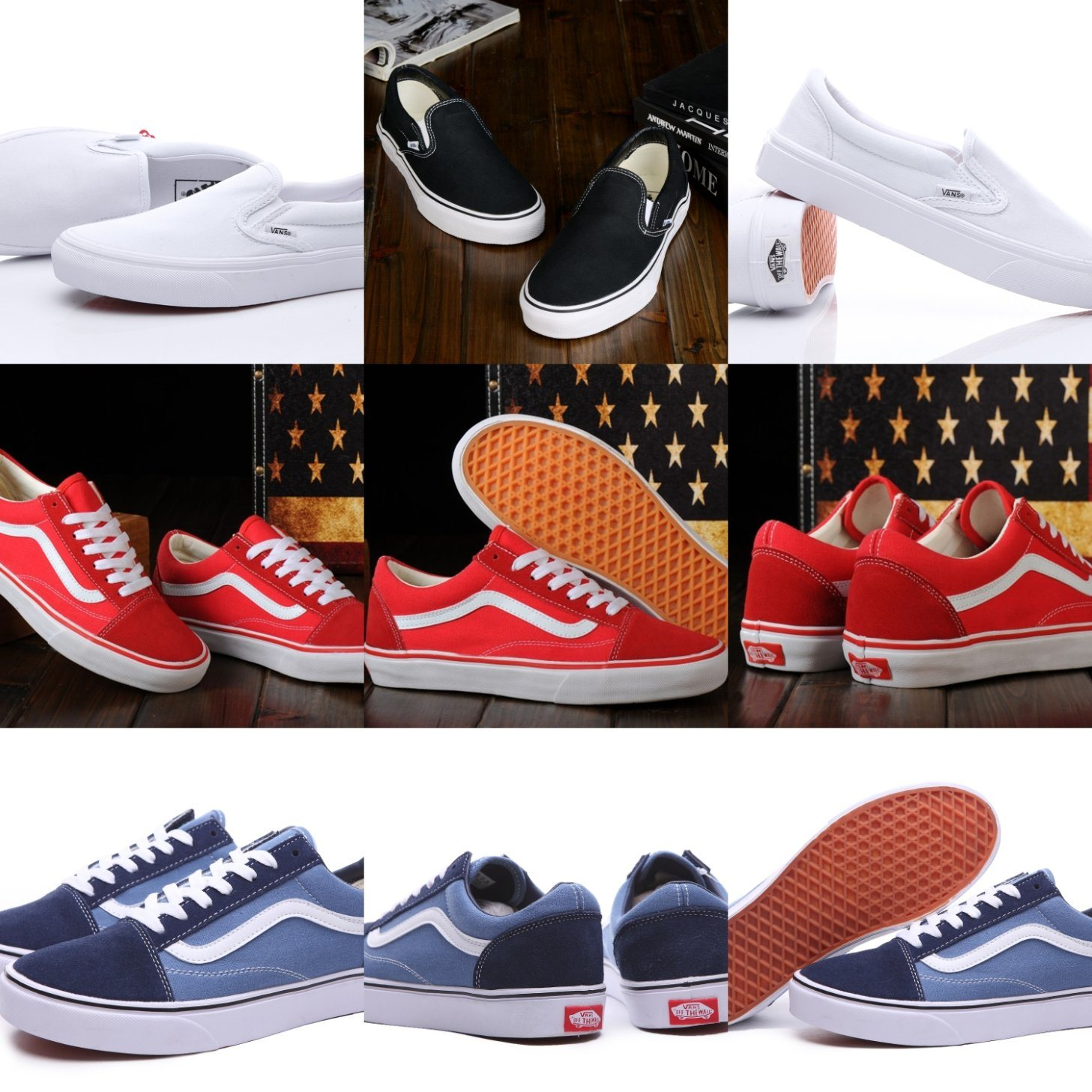 China Factory Outlet Old Skool Low Top
