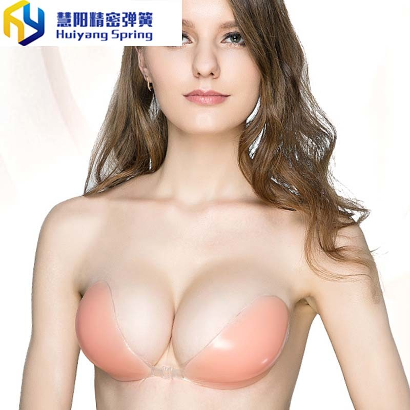 3119d5b722 China Free Bra Silicon Bra Self-Adhesive Gel Stick   Breast Cup up Strapless  Invisible Bra for Wedding - China Free Bra