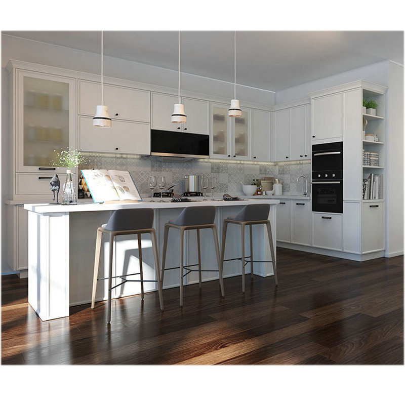 China Wooden Cabinet Modern Design Kitchen Cabinets Solid ...