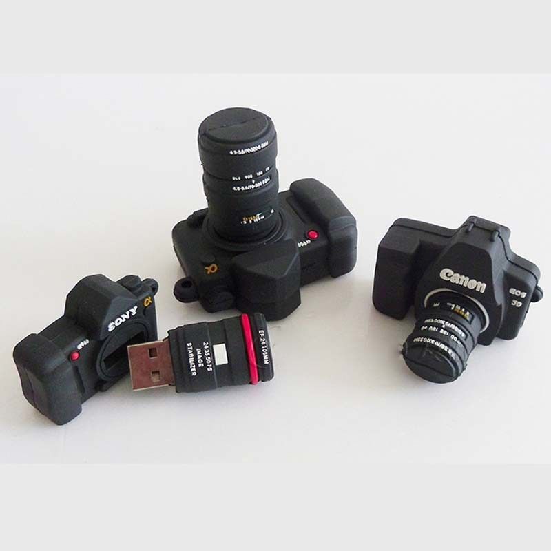 Camera USB Flash Drive2GB USB Stick 4GB (TF-0241) pictures & photos