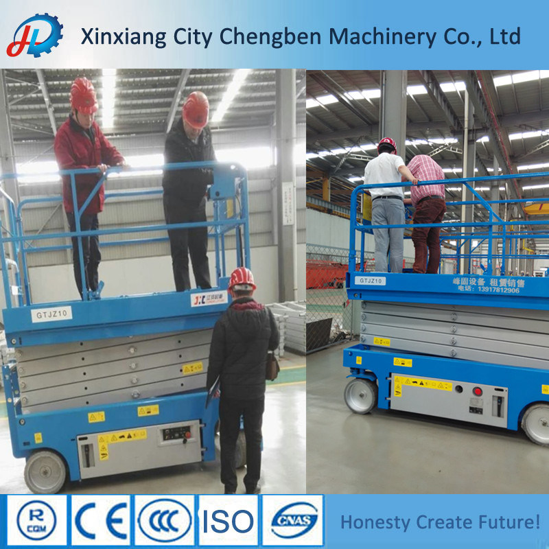 8m/10/12m Lifting Scissor Working Platform with Quick Delivery Time pictures & photos