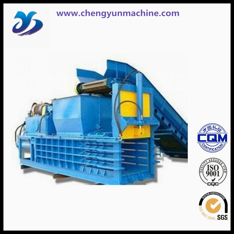 Waste Paper Baler Machine, Hydraulic Baler for Plastic pictures & photos