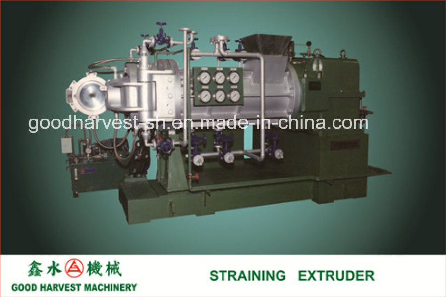 Straining Extruder for PVC Calender Making Plant