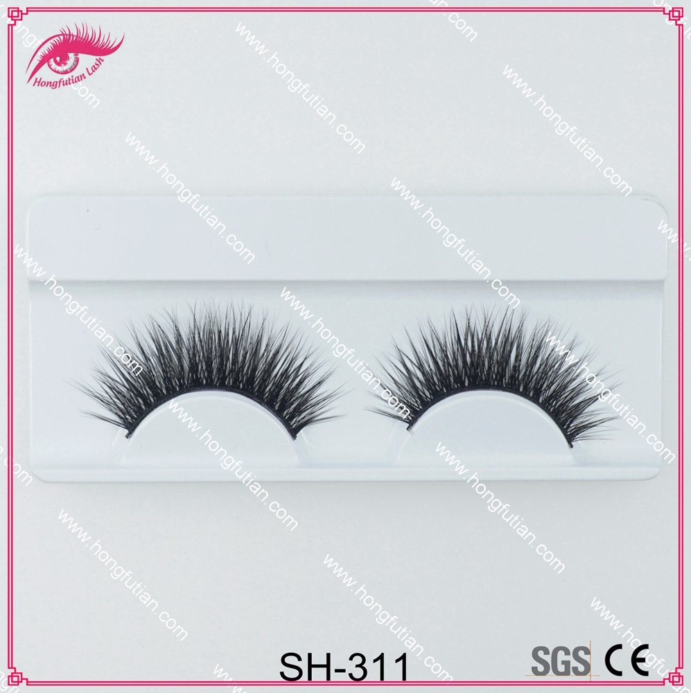 Hot Selling Thick Soft Natural Artificial Mink Eyelashes