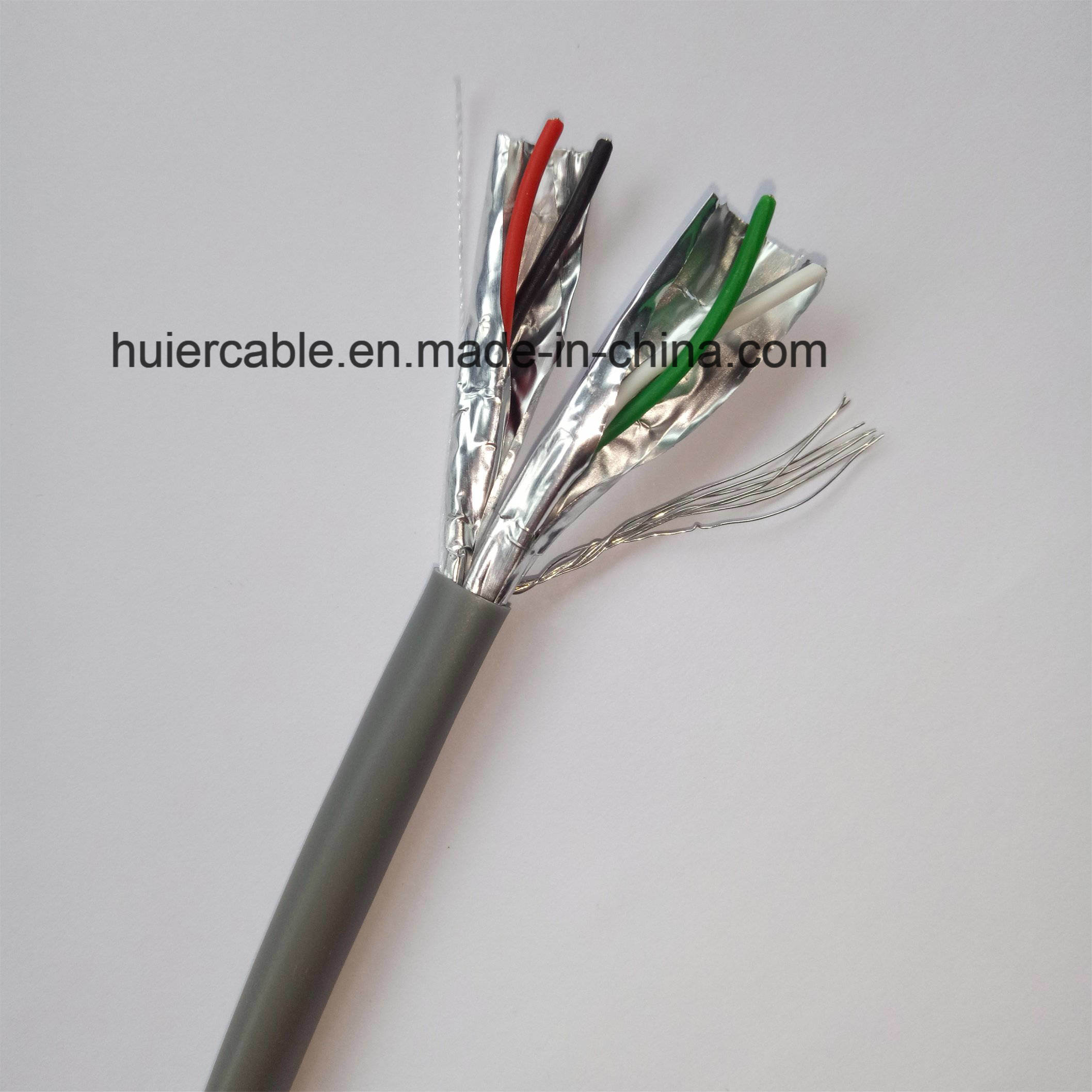China Security Alarm Cable, Shielded by Pair, 2 Pairs (4 Cores ...