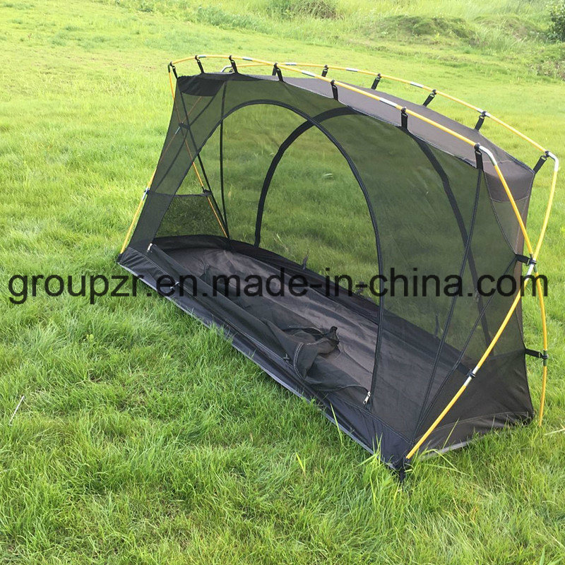 China Double Layer off The Ground Ice Fishing C&ing Tent Bed for 1 Person - China C&ing Tent Outdoor Tent & China Double Layer off The Ground Ice Fishing Camping Tent Bed for ...