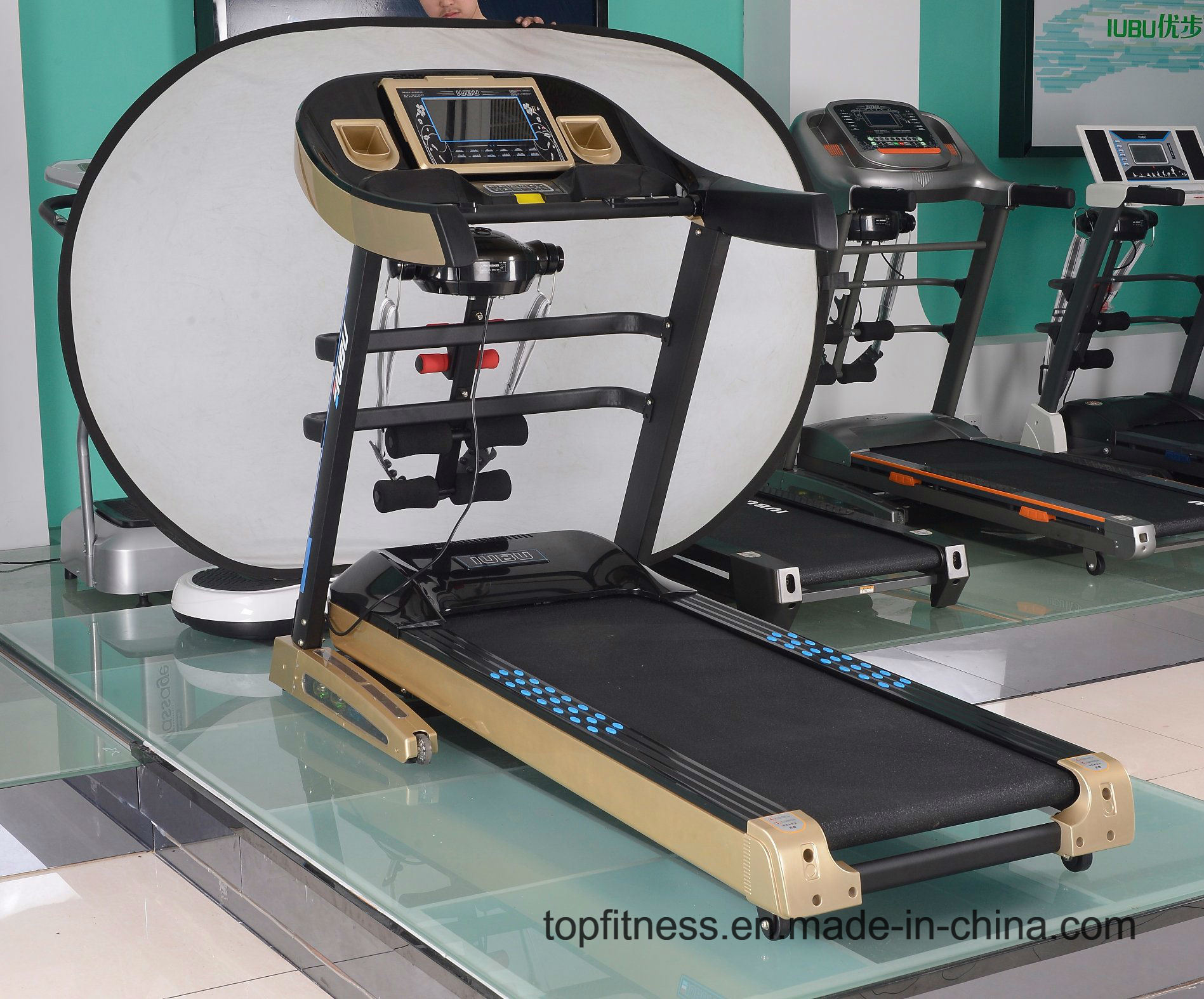 China Pop Design Dc Motor Healthcare Gym Body Fit Treadmill China