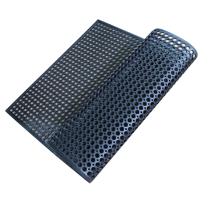 China Anti Slip Kitchen Mats Fatigue Mat Drainage Rubber
