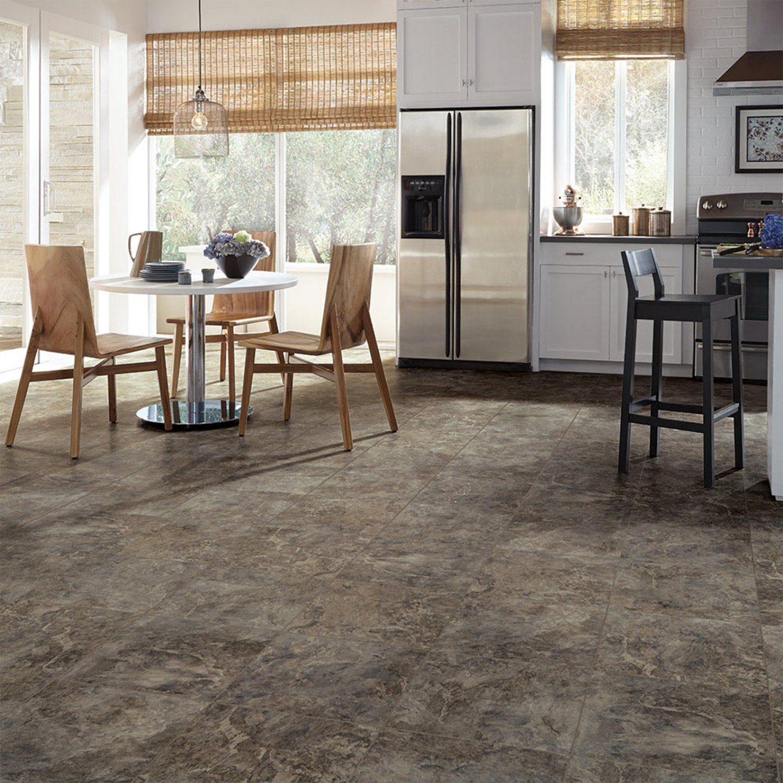 Self Adhesive Luxury Vinyl Floor Tiles