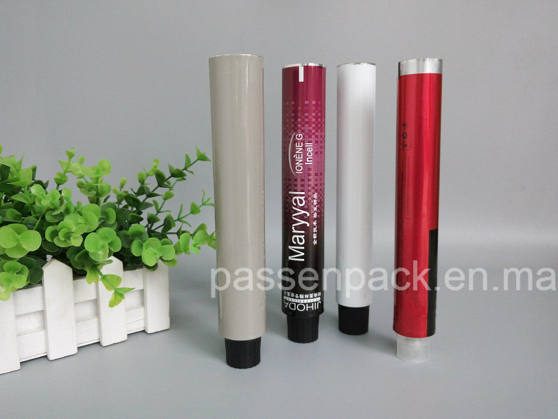 China Aluminum Hair Color Dye Tube For Cosmetic Packaging Ppc At