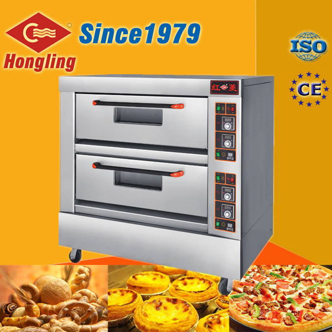 Amazing China Bakery Equipment Double Deck Commercial Electric Pizza Oven For Sale    China Electric Pizza Oven, Pizza Oven