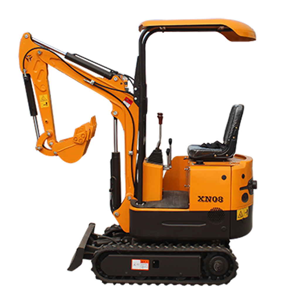 Cheap Mini Excavator 0.8 Ton Small Digging Machine Xn08