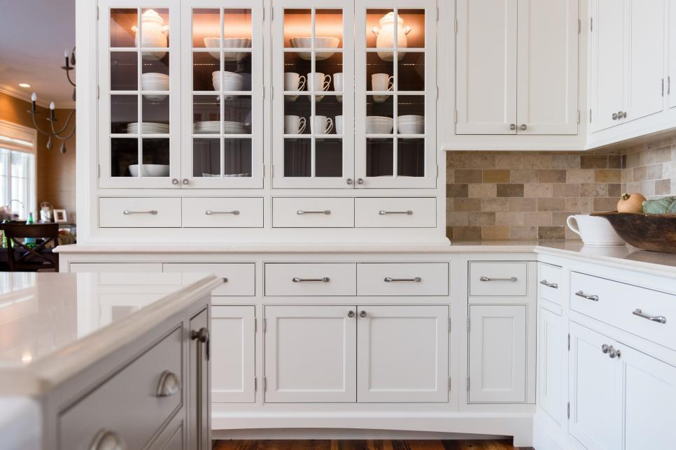 [Hot Item] Project Use Assembled American MDF/Plywood/Solid Wood Kitchen  Cabinet Design White