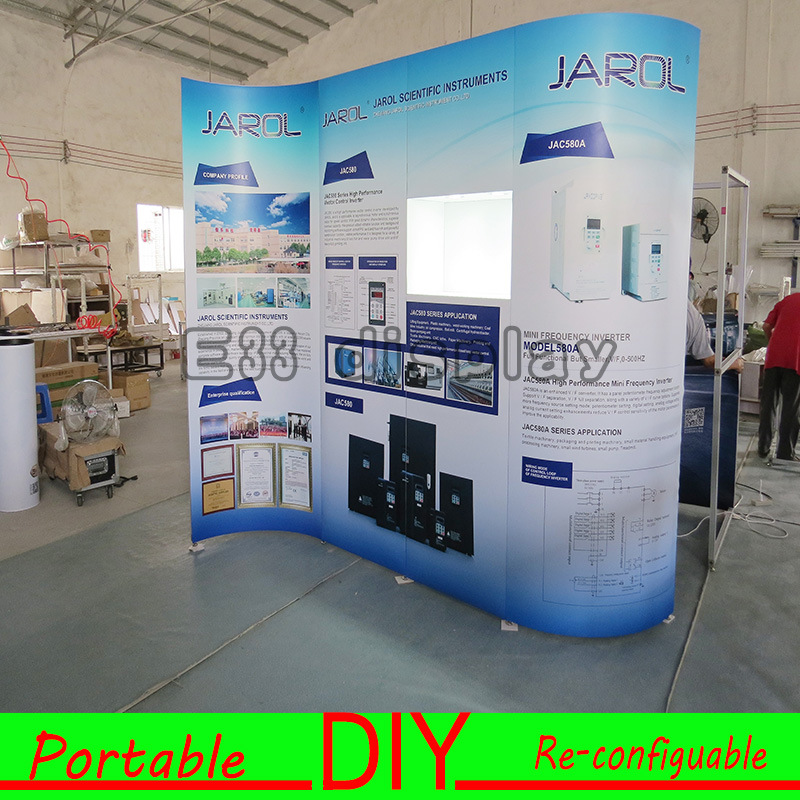 Exhibition Booth Backdrop : China hot selling eco friendly portable modular backdrop stand for