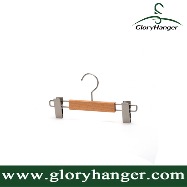 Wholesale Wooden Pant Hanger for Baby pictures & photos