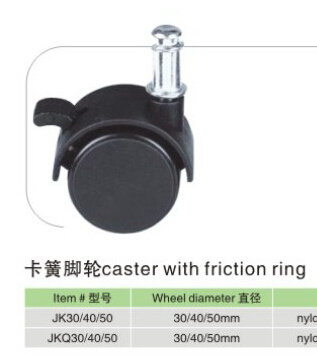 Caster with Friction Ring pictures & photos
