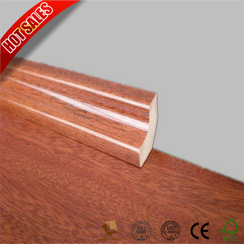Mdf Skirting Board Flooring Accessories For Laminate