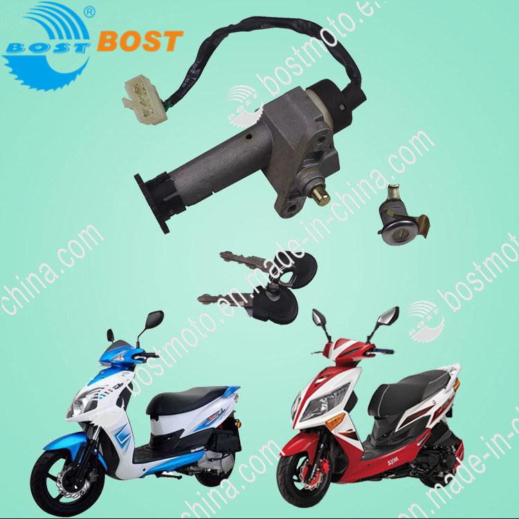 China Motorbike Accessory Lock Set for Motorcycle Sym Jet-4