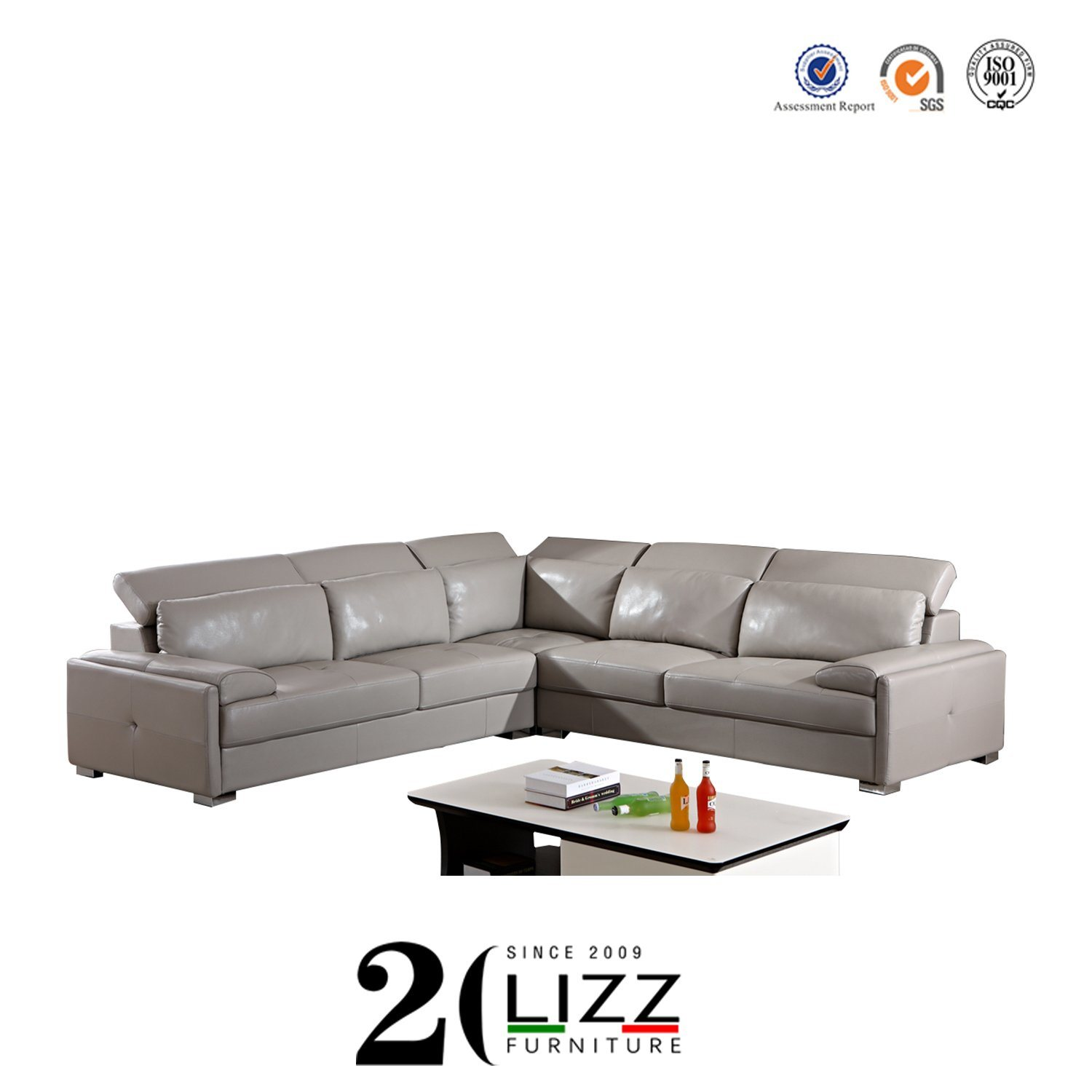 - China Modern Sectional Genuine Leather Recliner Sofa - China Soft