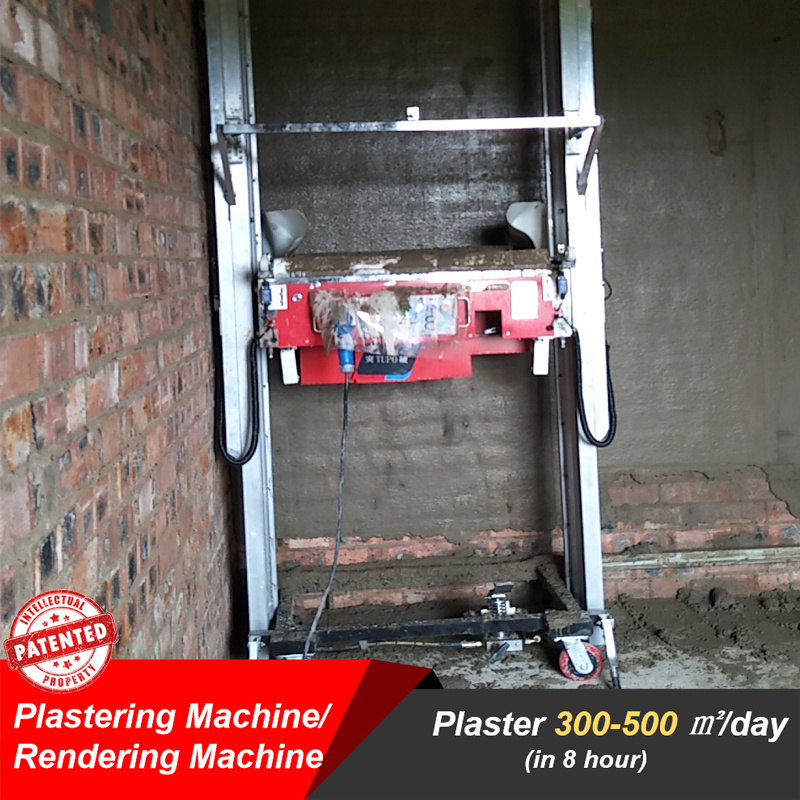 Hot Item Plastering Machine For Indoor Wall Automatic Wall Painting Machine