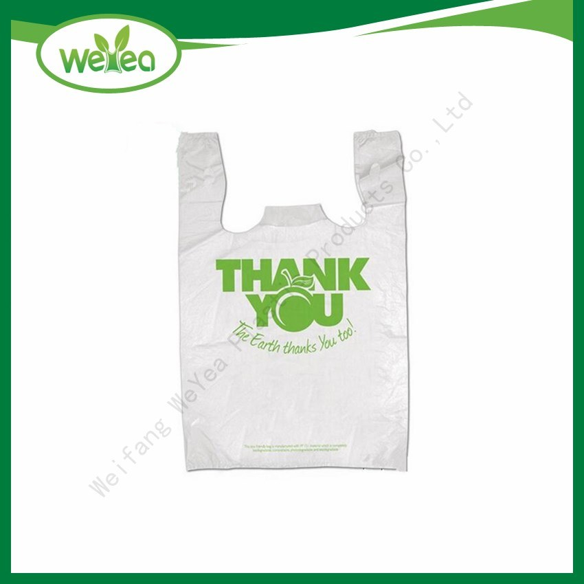Over 10 Years Experience Professional Service High Quality Custom Logo Printed Plastic Carrier Shopping Bag pictures & photos