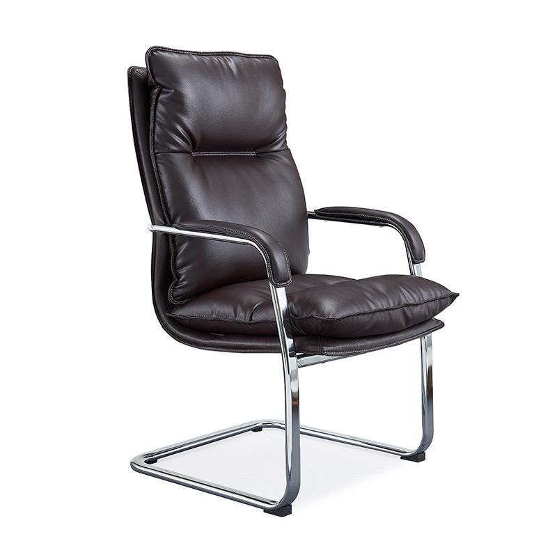 China Hot Sale Pu Leather White Black Executive Boss Office Chair Home Computer Desk Armchair Boss Office Chair China Office Chair Manager Chair
