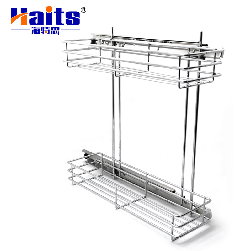 China Stainless Steel Kitchen Pantry Cabinets Pull Out Cabinet Drawer Basket China Baskets And Wire Basket Price