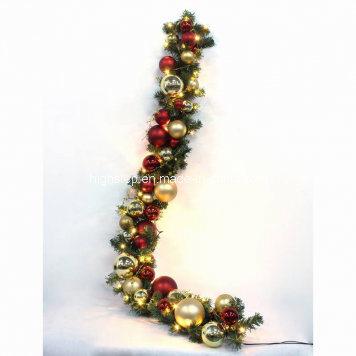 christmas ball garland