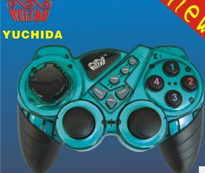 China Wired USB Joystick Gamd Controller with Dual Vibration for PC ...