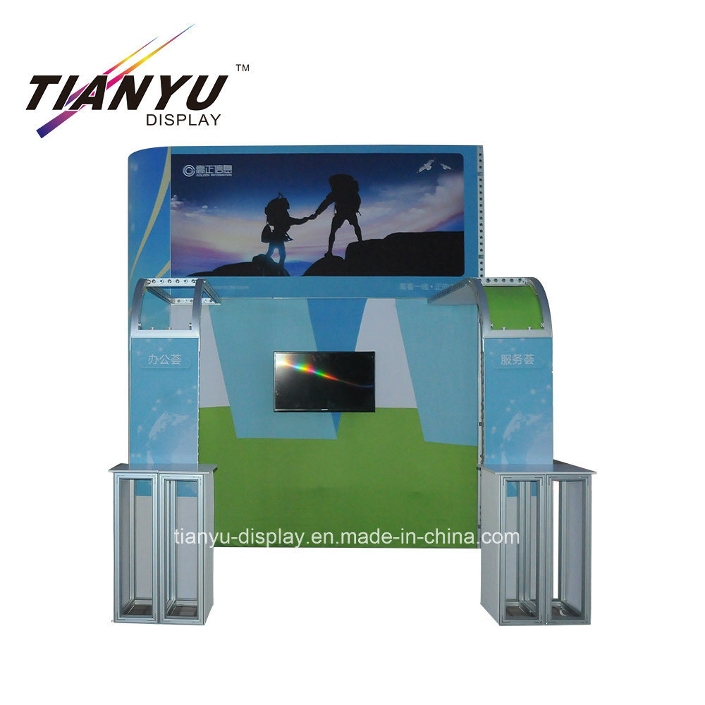 Trade Show Booth With Shelves : China cosmetic aluminum trade show exhibition booth with