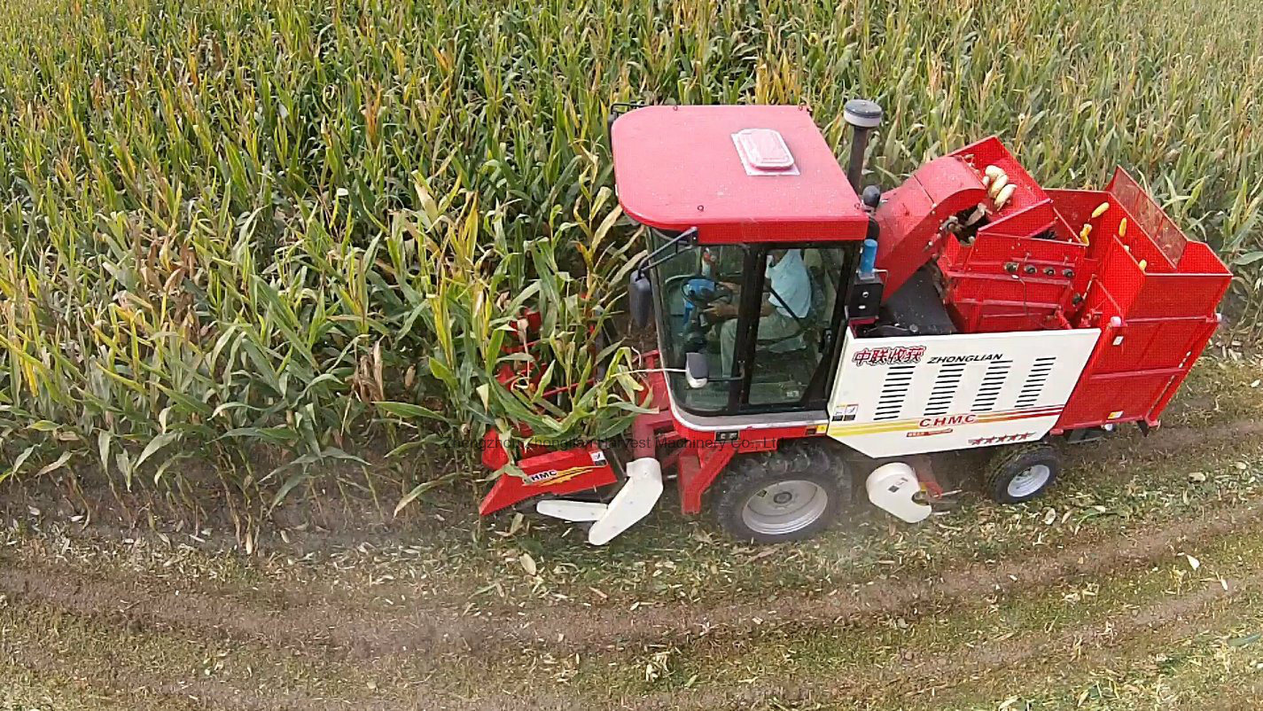Mini Corn Combine Harvest Machine pictures & photos