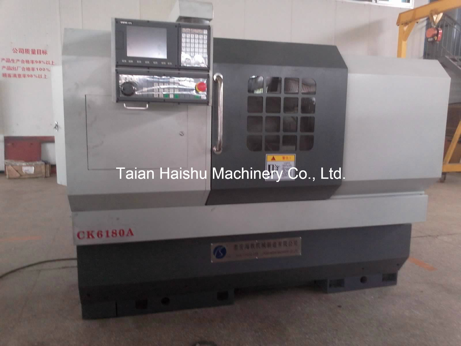 China Ck6180A Car Wheel Repair CNC Lathe Machine with Probe with ...