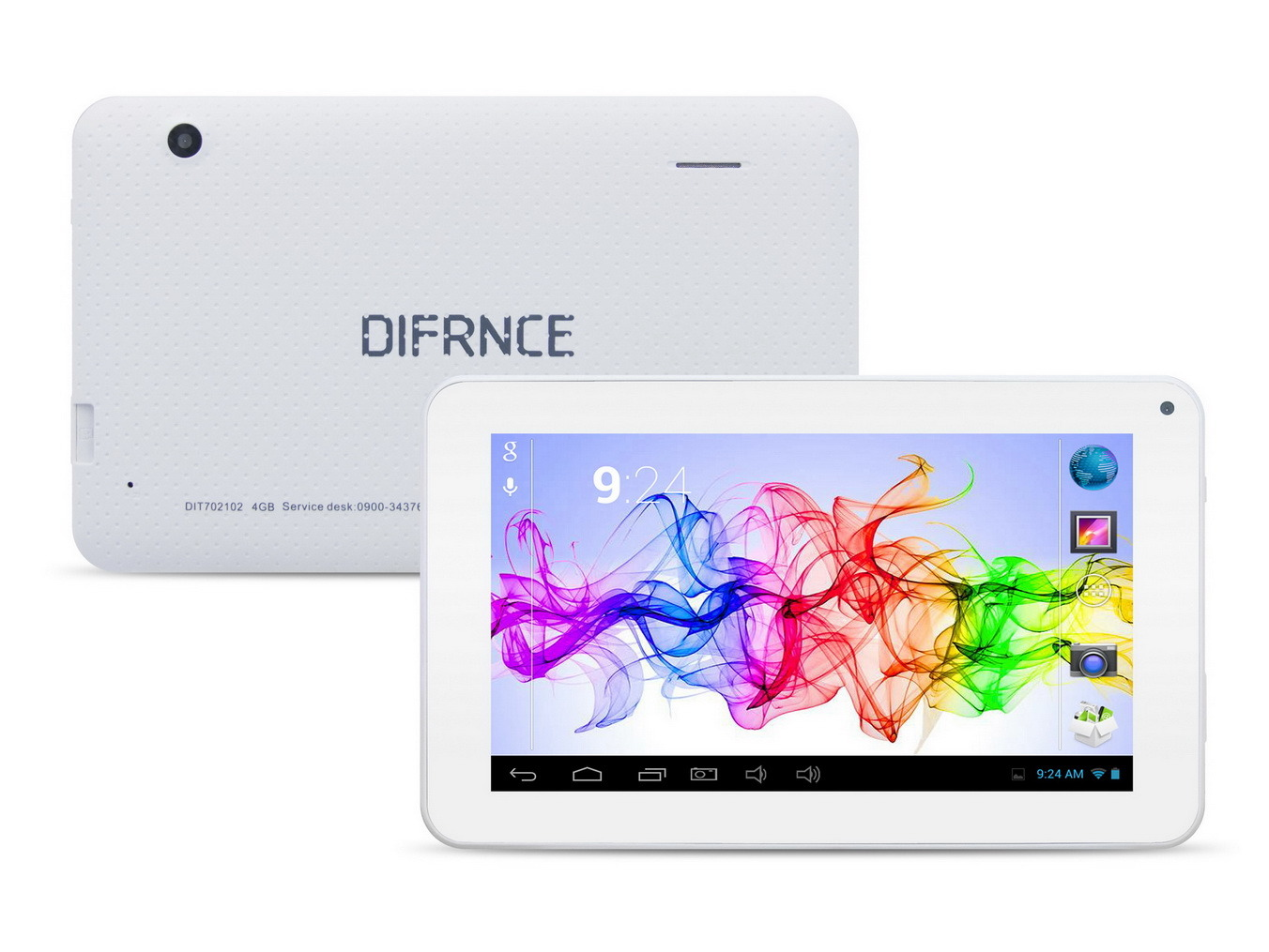 "7"" Quad Core Android Tablet PC"