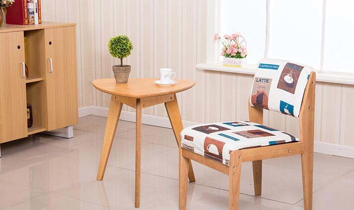 China Solid Wooden Chairs Living Room Chairs Colorful Chairs Fabric ...