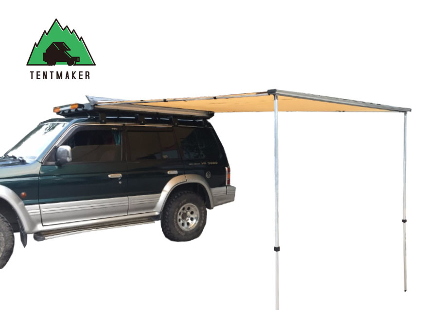 China Car Roof Tent Canopy Truck Outdoor Collapsible Waterproof Canvas Beach Side Awning