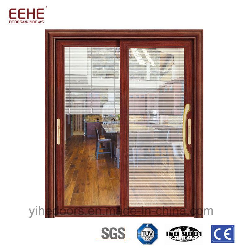 China Insulated Aluminum Sliding Door With Exterior Sliding Glass