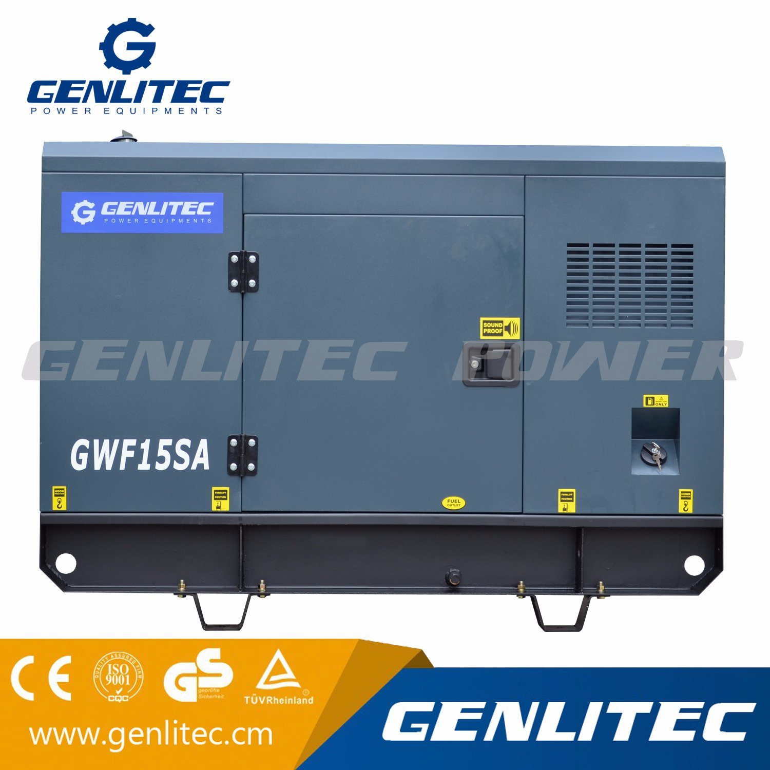 China Soundproof Silent Weifang K4100zd Diesel Engine Power