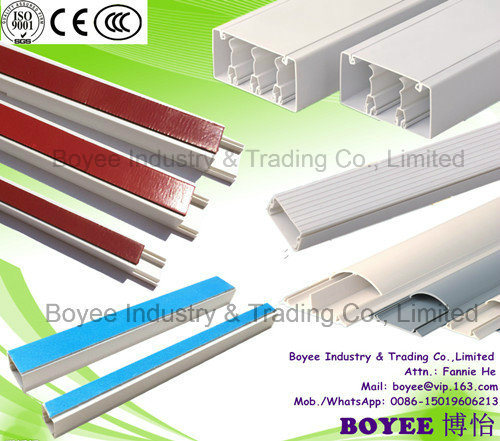 China Ageing Resistance PVC Wiring Cable Tray Fireproofing ... on
