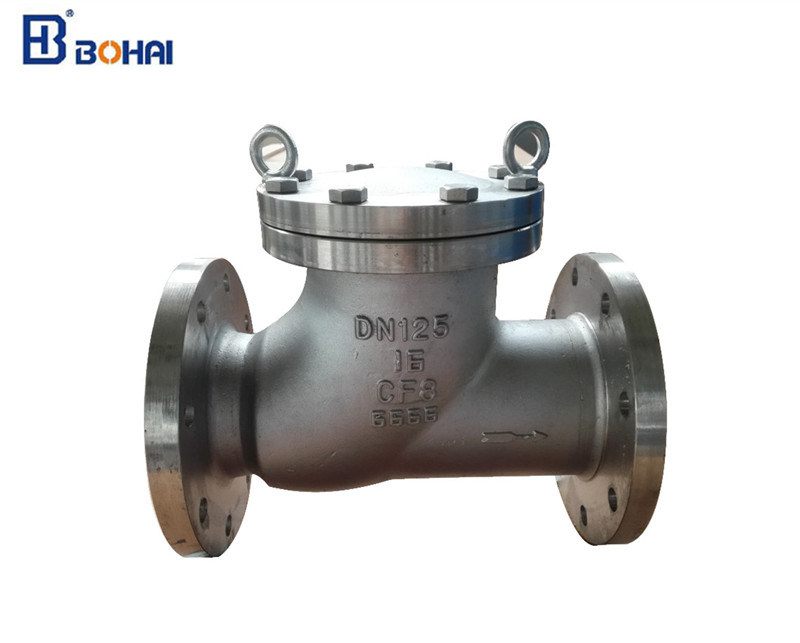 Industrial OEM Cast Iron/ Forged Steel Flanged End Float Ball Type Check Valve