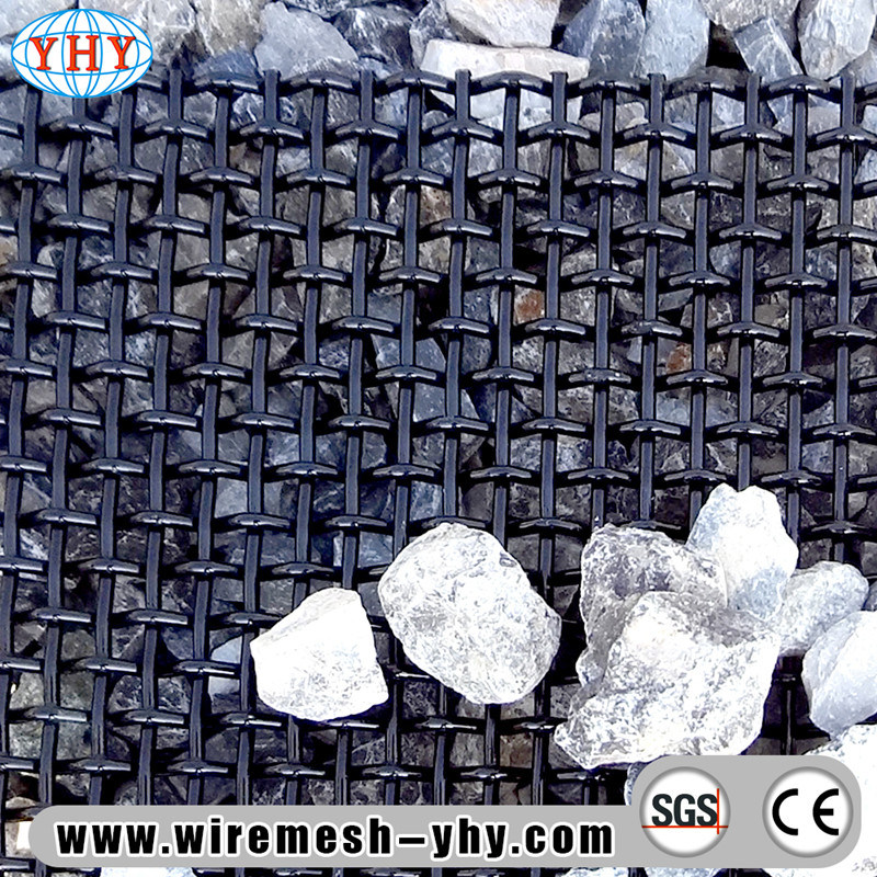 China Galvanized Lock Crimp Mesh Screen - China Mesh Wire, Slot Screen