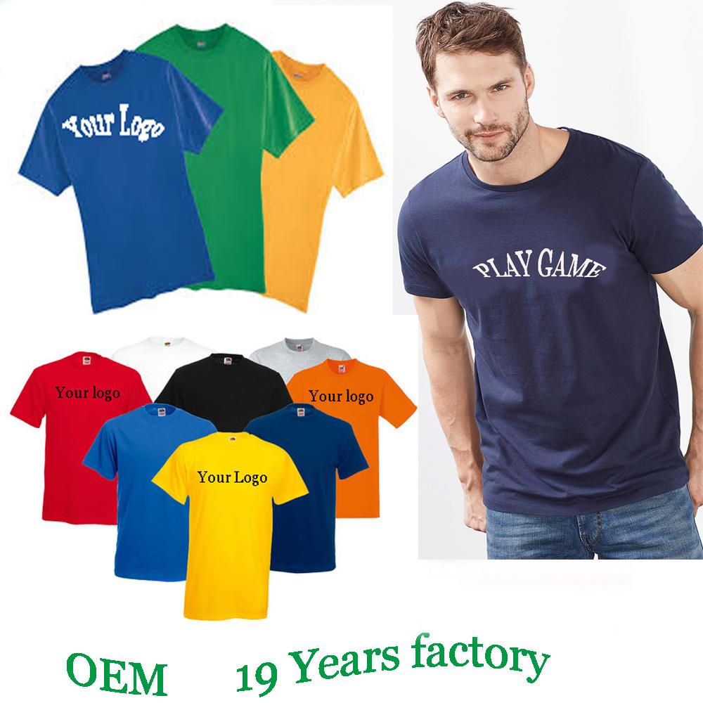 China Custom T Shirt Printing Hot Sale Blank Cheap Tshirts China T