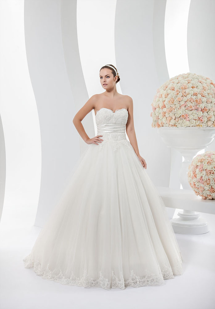 China Sweetheart Lace Top Tulle Ball Gown Bridal Dress Wedding Gown ...