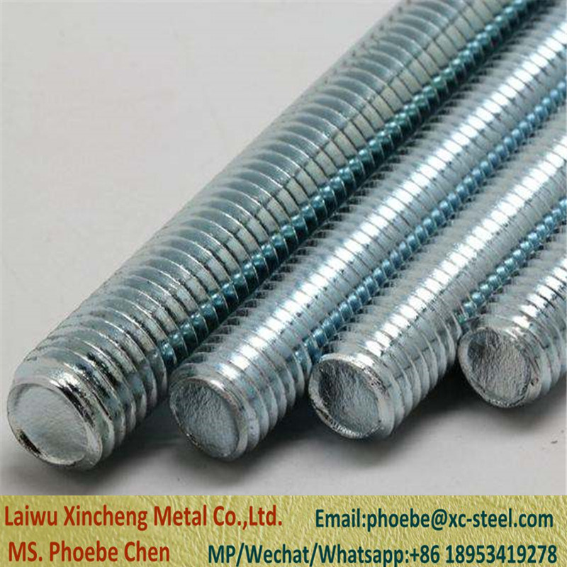 China Threaded Rods Din 975 8 8 Hdg Threaded Rod Din 975 Steel 8 8 China Threaded Rod Threaded Rods