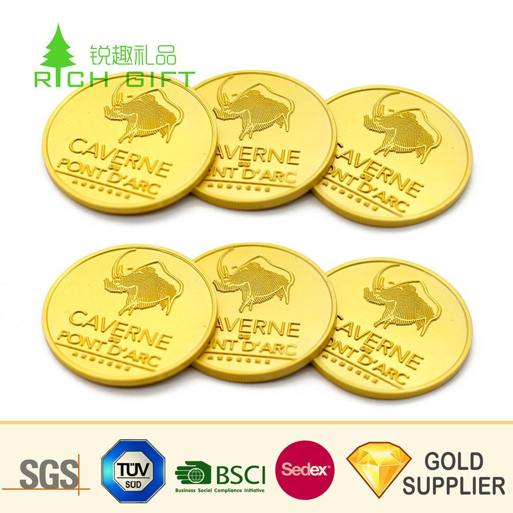 Donald Gold Trump Coin Replica Ancient