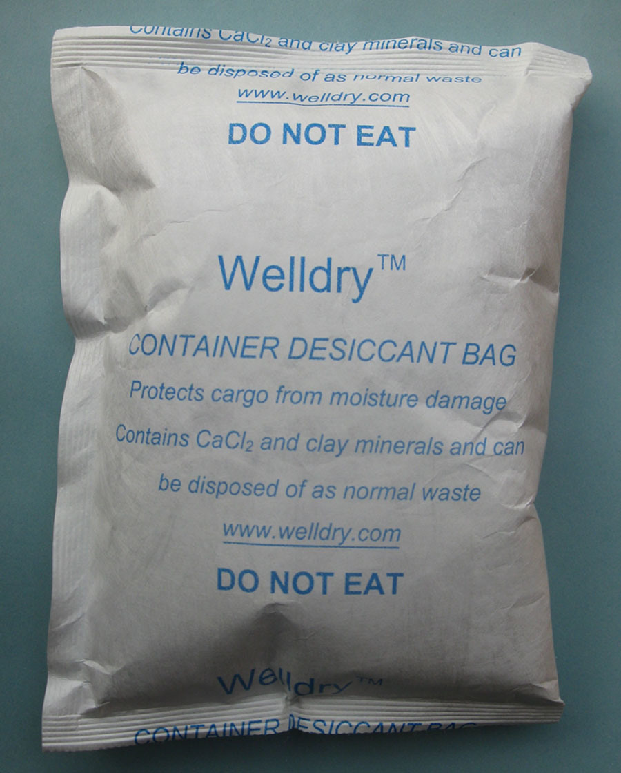 China 500 Gram Container Desiccant Bag For Shipping Bags